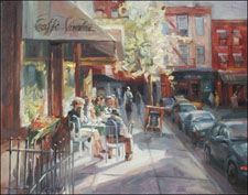 Caffe Vivaldi in Greenwich Village
