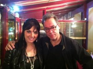 Zahra Universe and Brad Spurgeon in Paris