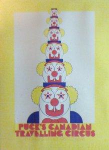 Puck's Circus Poster