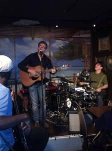 Brad Spurgeon at Tony's (Photo: Yvon Malenfant)