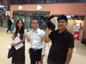 Japan TV Crew in Kansai that Interviewed Me