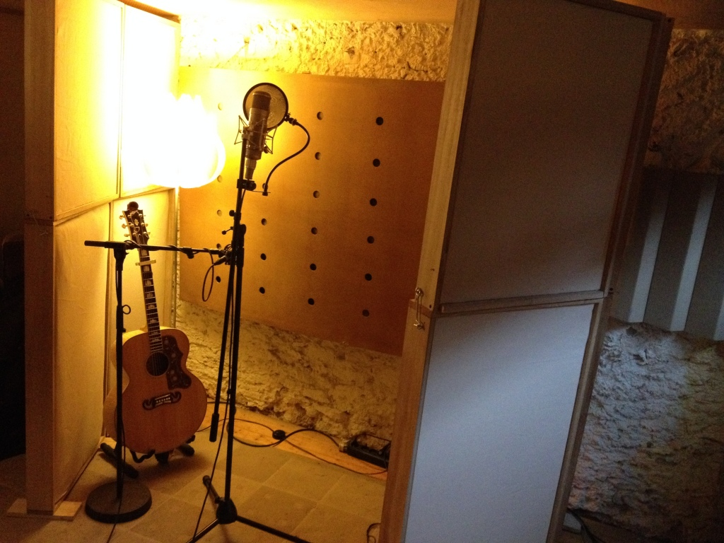my J-200 and the singing space at the Melodium studios