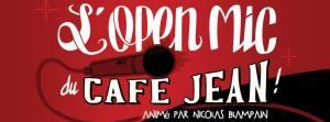 Cafe Jean Open Mic