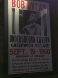 Mr Boogie Man Dylan gig poster