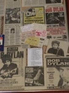 Mr Boogie Man Dylan scrapbook