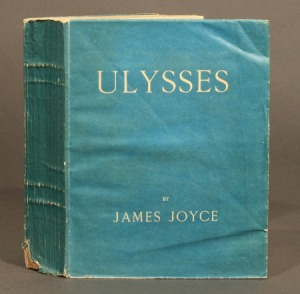 First edition of James Joyce's Ulysses