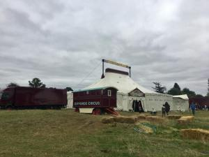 Giffords Circus tent